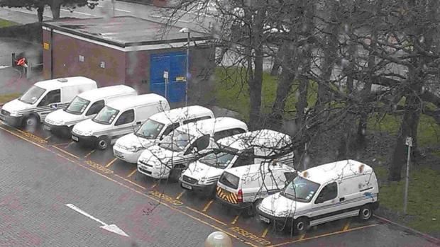 Bournemouth Echo: HUMAN ERROR: Borough of Poole's fleet of vehicles