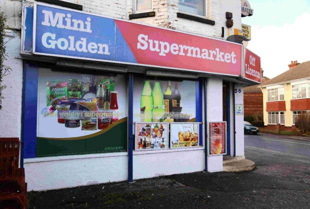 The Mini Golden Supermarket on Stanfield Road