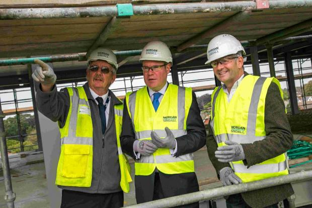 A visit to the Morgan Sindall site on Madeira Road