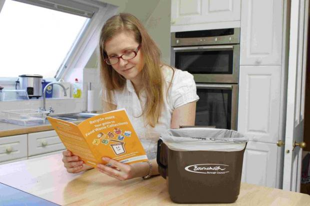 Bournemouth Echo: HELP: Residents' questions are being answered about the new food waste recycling scheme