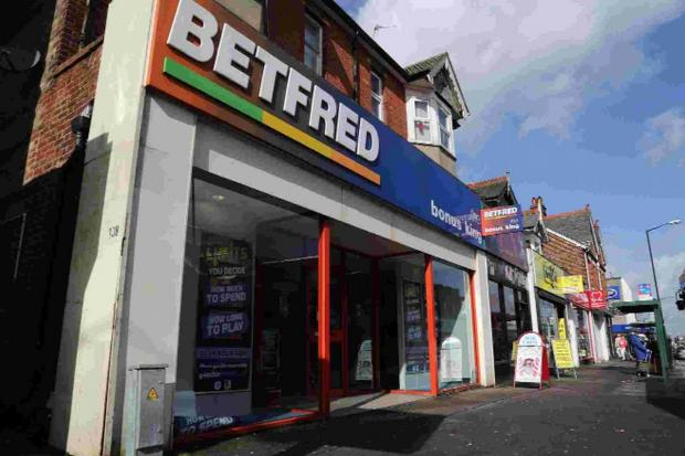 ABUSE OF POSITION: BetFred bookmakers in Wimborne Road where the fraud took place