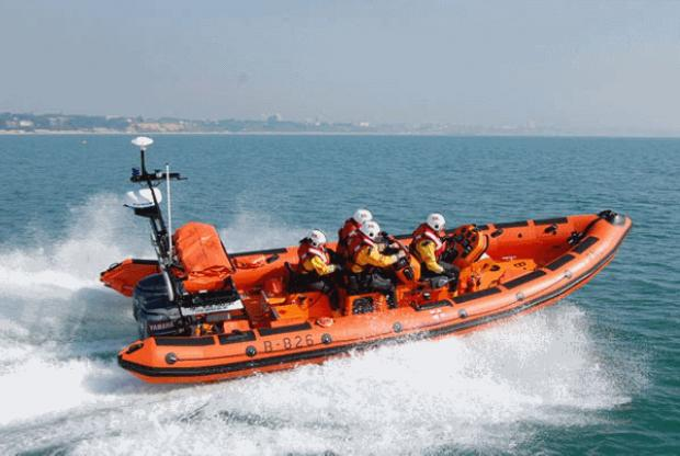 Bournemouth Echo: Poole lifeboat launched after man taken ill
