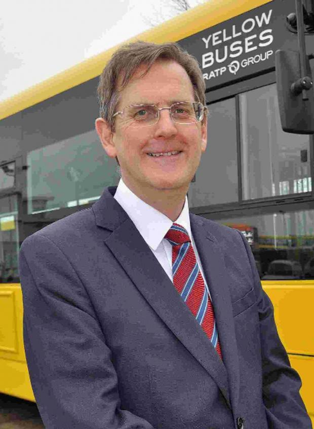 Bournemouth Echo: GRAND VISION: Andrew Smith, managing director of Bournemouth Transport Limited