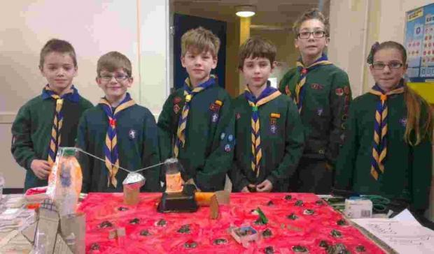 Bournemouth cubs create alien base as part of scrapheap challenge in Winton