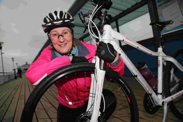 Liz Gifford is part of a team that will cycle 400km in Cuba to raise funds for cancer charities