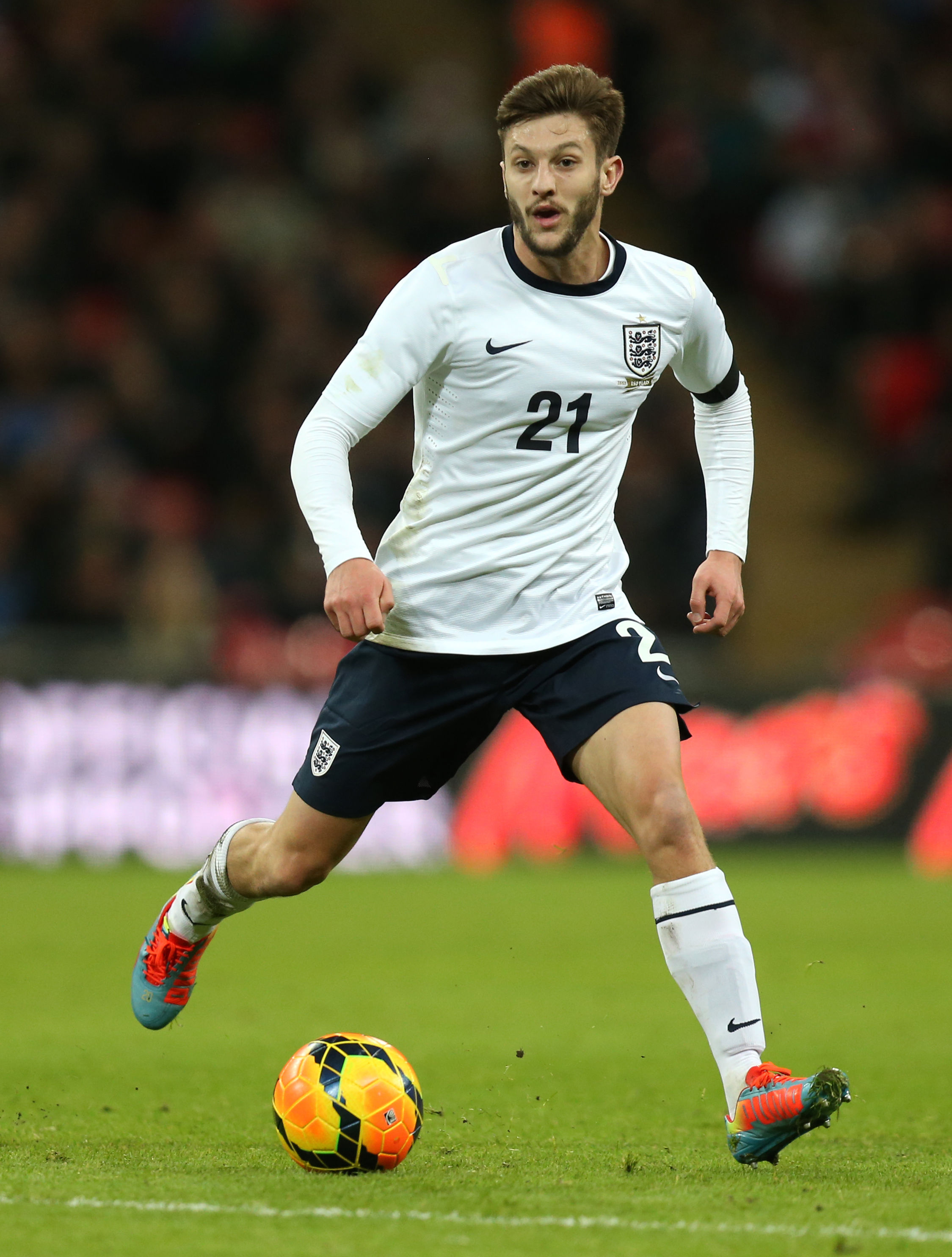 ENGLAND INTERNATIONAL: Southampton star Adam Lallana