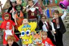 DRESS-UP: Pupils at St Clement's and St John's Infant School celebrate World Book Day
