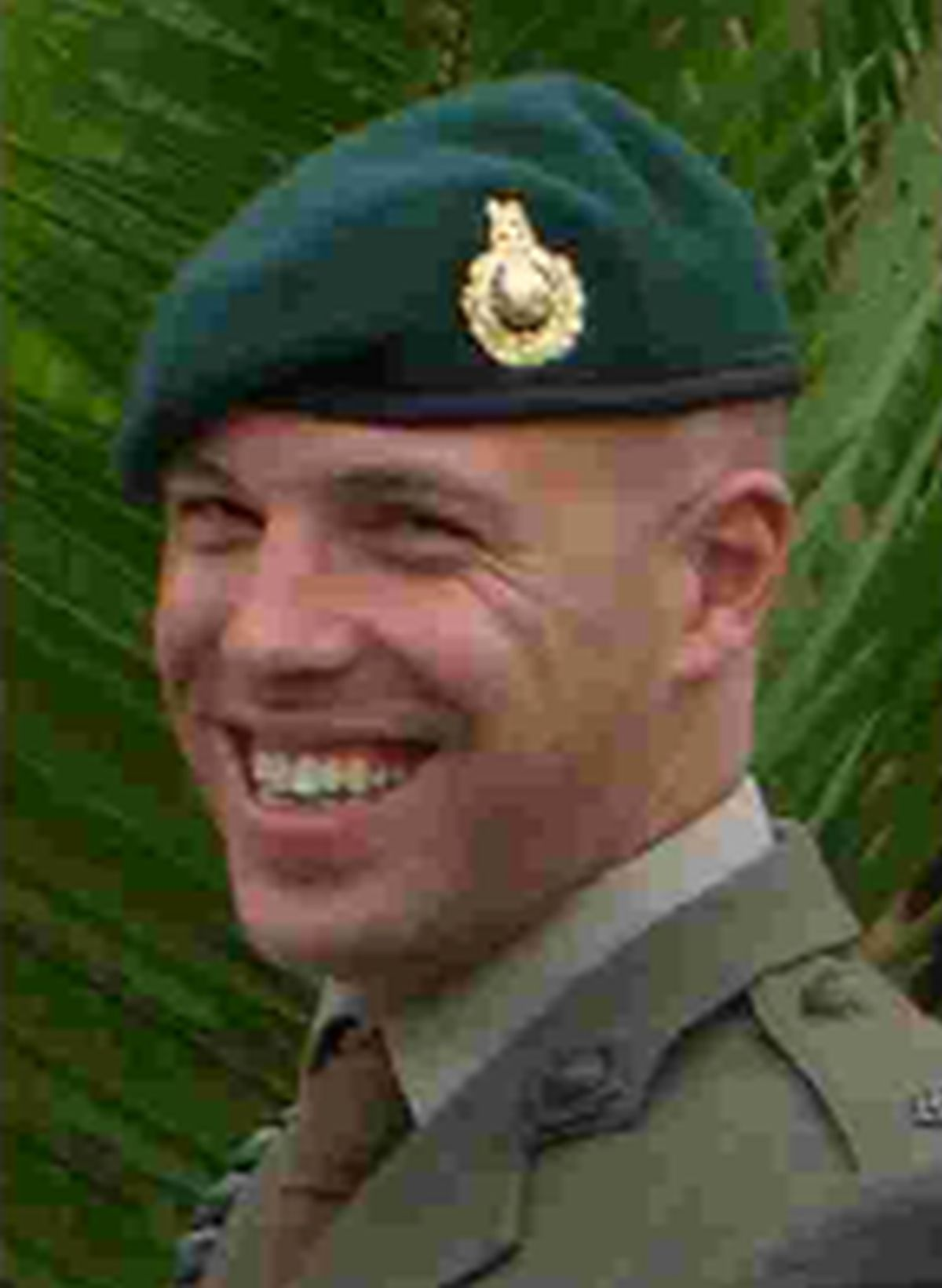 A memorial tablet dedicated to two Royal Marines killed in Afghanistan unveiled Sunday