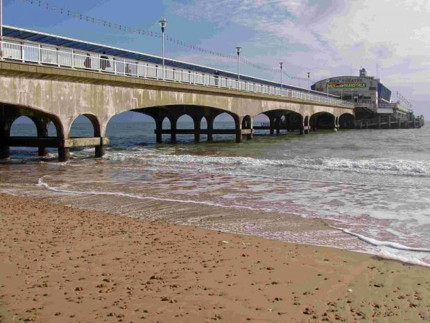 Teenager taken to hospital after falling from jetski near Bournemouth Pier