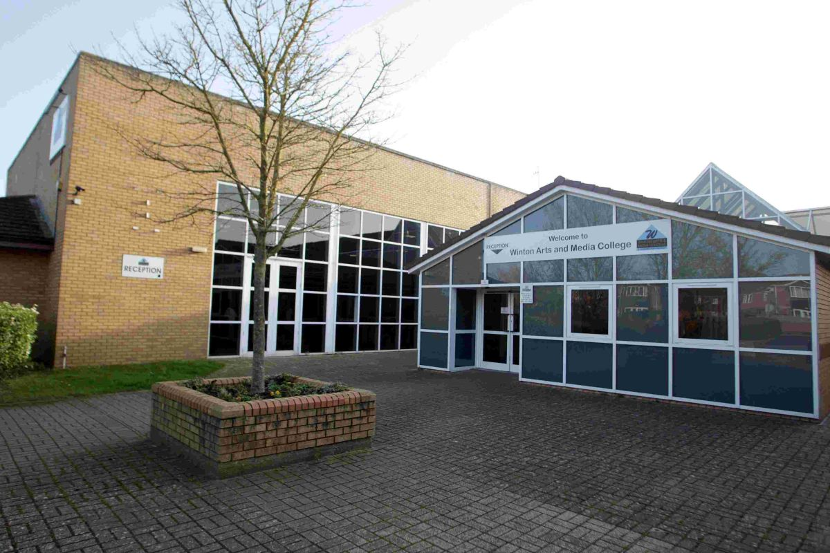 IMPROVEMENT: Winton Arts and Media College, one of the academies where an independent review will take place