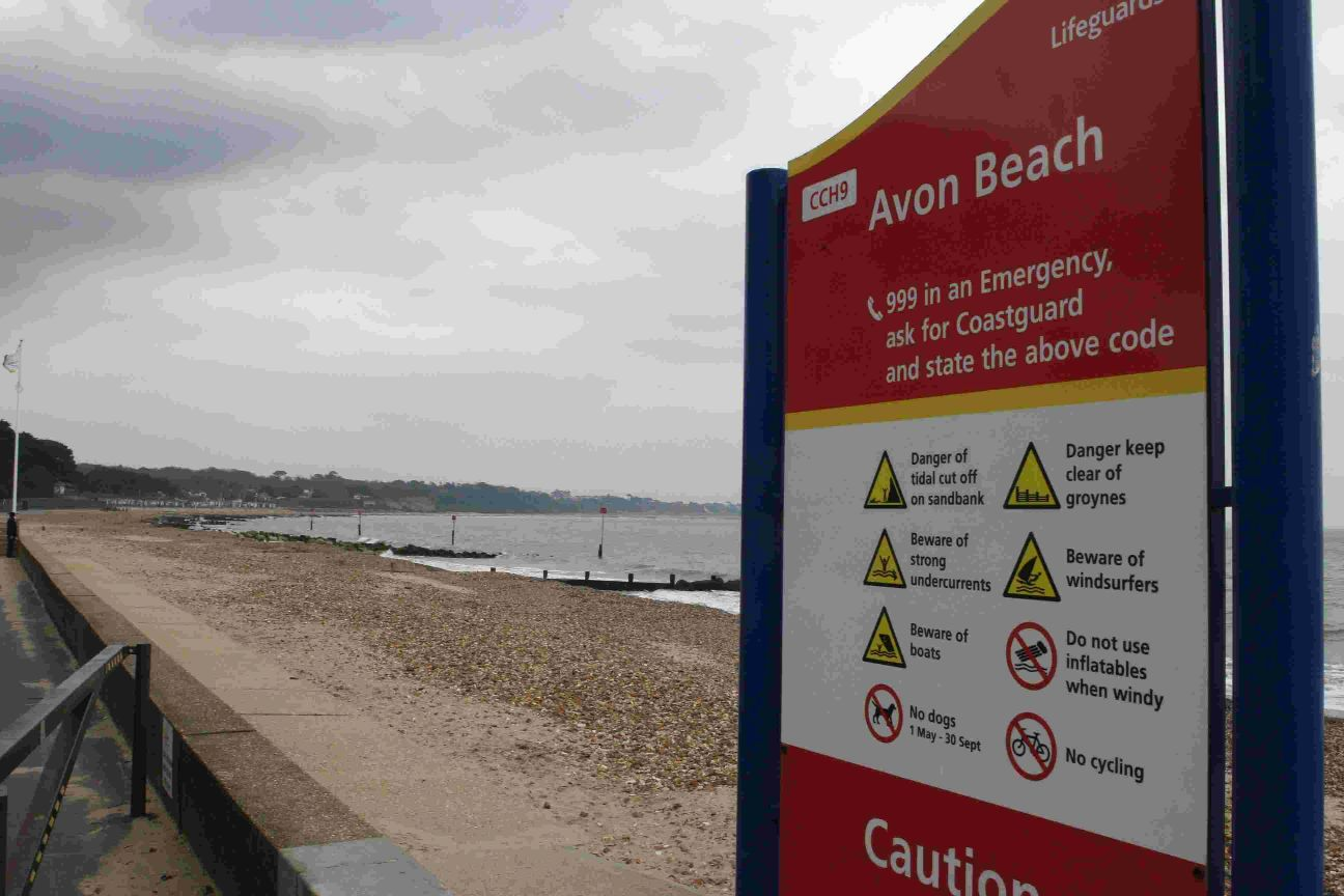 Dog owner's warning after pet poisoned by palm oil washed up on Avon Beach