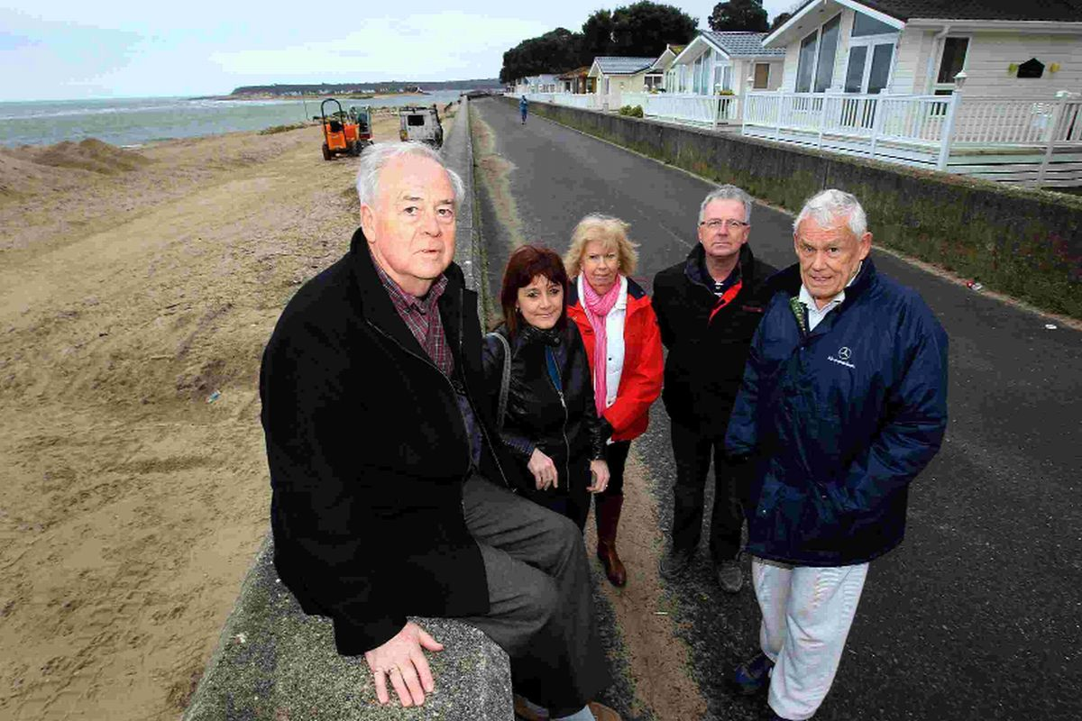 """Ludicrous"" – plans to put new beach huts in front of sea wall weeks after storms chaos are slammed"