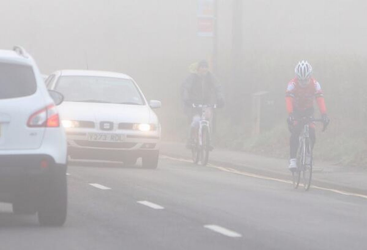 Fog returns to cause disruption to travel across Dorset and the New Forest