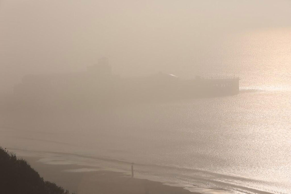 Bournemouth Echo: foggy-pier.jpg