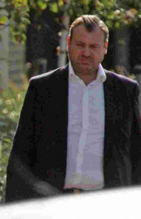 Tony Ramsden arriving at Bournemouth Crown Court last year
