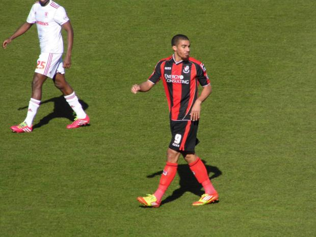 BID ACCEPTED: Cherries striker Lewis Grabban