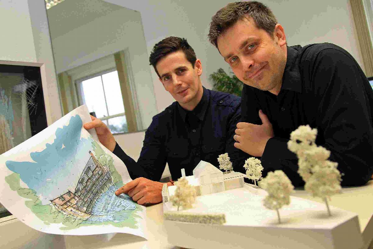 Architects Ryan Martin and Sean Daly