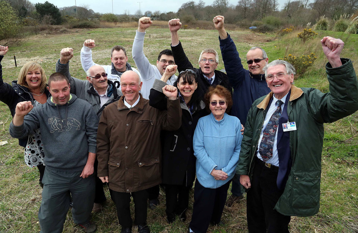 VIDEO: Delight for residents as temporary traveller site proposals for Creekmoor and Oakdale are thrown out