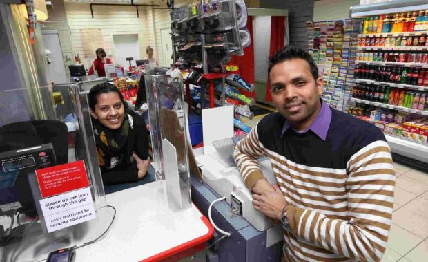 Bournemouth Echo: NEW LOOK: Husband and wife team Hiren and Arti Modi