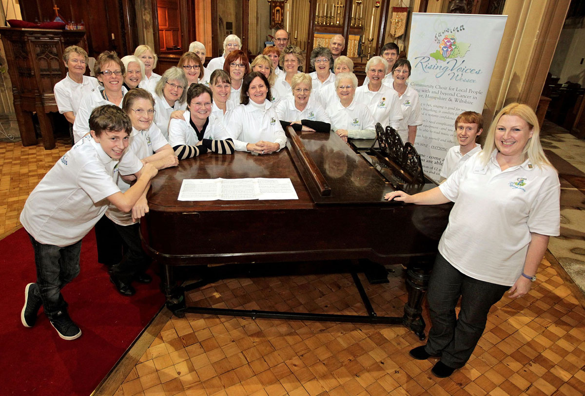 Meet the choir on a mission to make people affected by cancer feel better