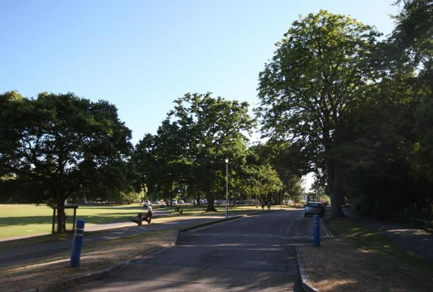 Police hunt man who committed 'lewd act' in Poole Park