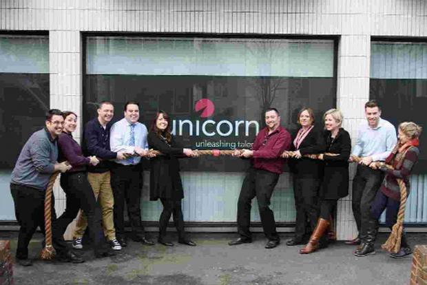 YOU'RE FIRED: Employees at Unicorn Training have entered two teams for the Diverse Abilities Apprentice challenge