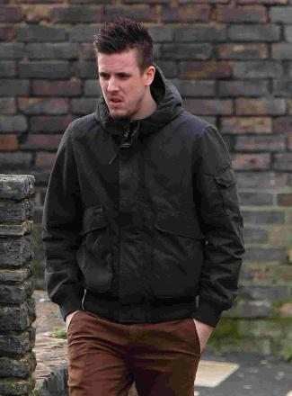 GAMBLE: Jamie Cox stole from his employers then attempted to recover the missing cash by gambling