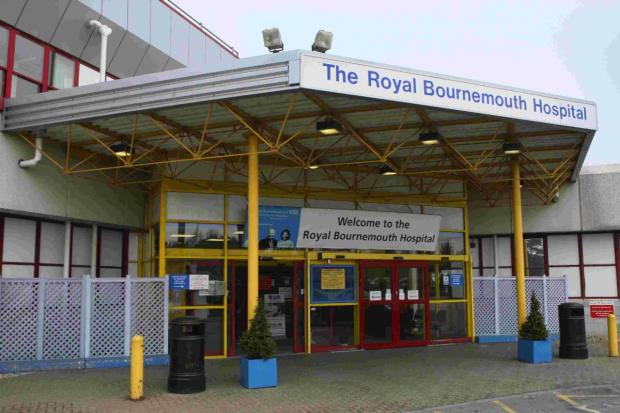 SHAKE-UP: A restructure in management at the Royal Bournemouth Hospital is underway
