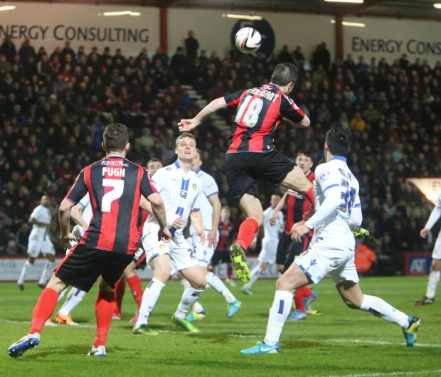 Bournemouth Echo: All our pictures from AFC Bournemouth v Leeds United an Dean Court on Tuesday, March 25, 2014.