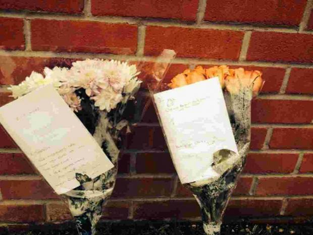 Bournemouth Echo: TRIBUTES: Flowers left at the scene