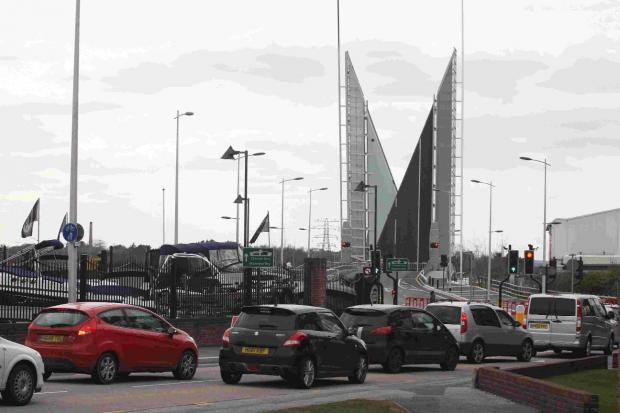 Twin Sails bridge closure for