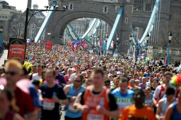 Taking part in the London Marathon? come along to our photo shoot
