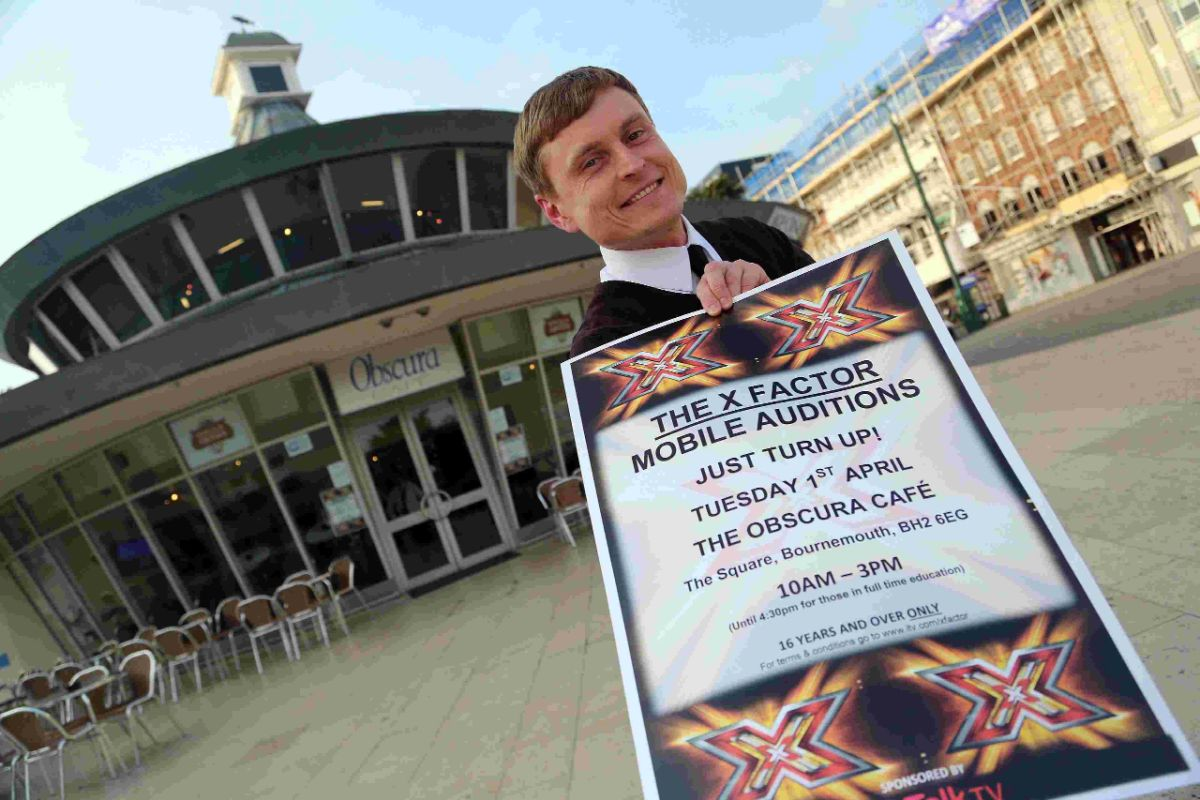 Come and have a go: Line up and sing up at X Factor auditions in Bournemouth