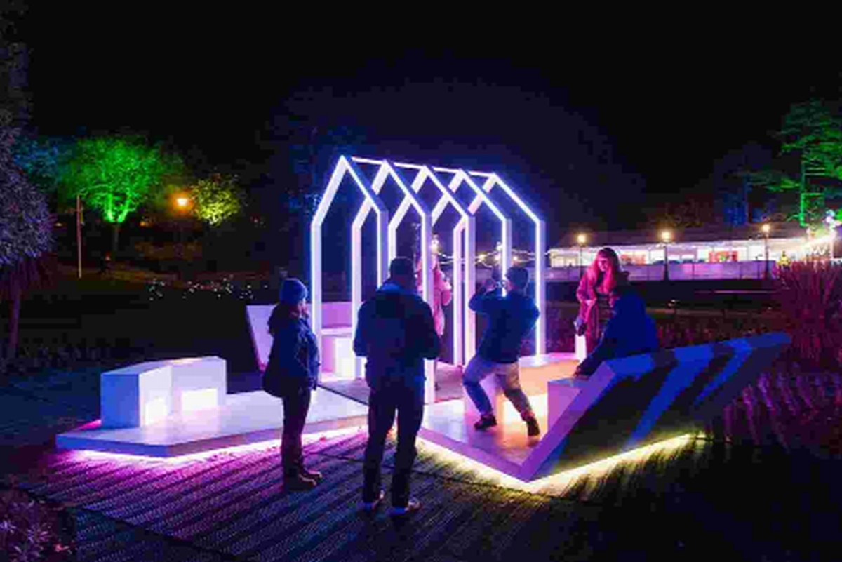 Light pods project wins major award
