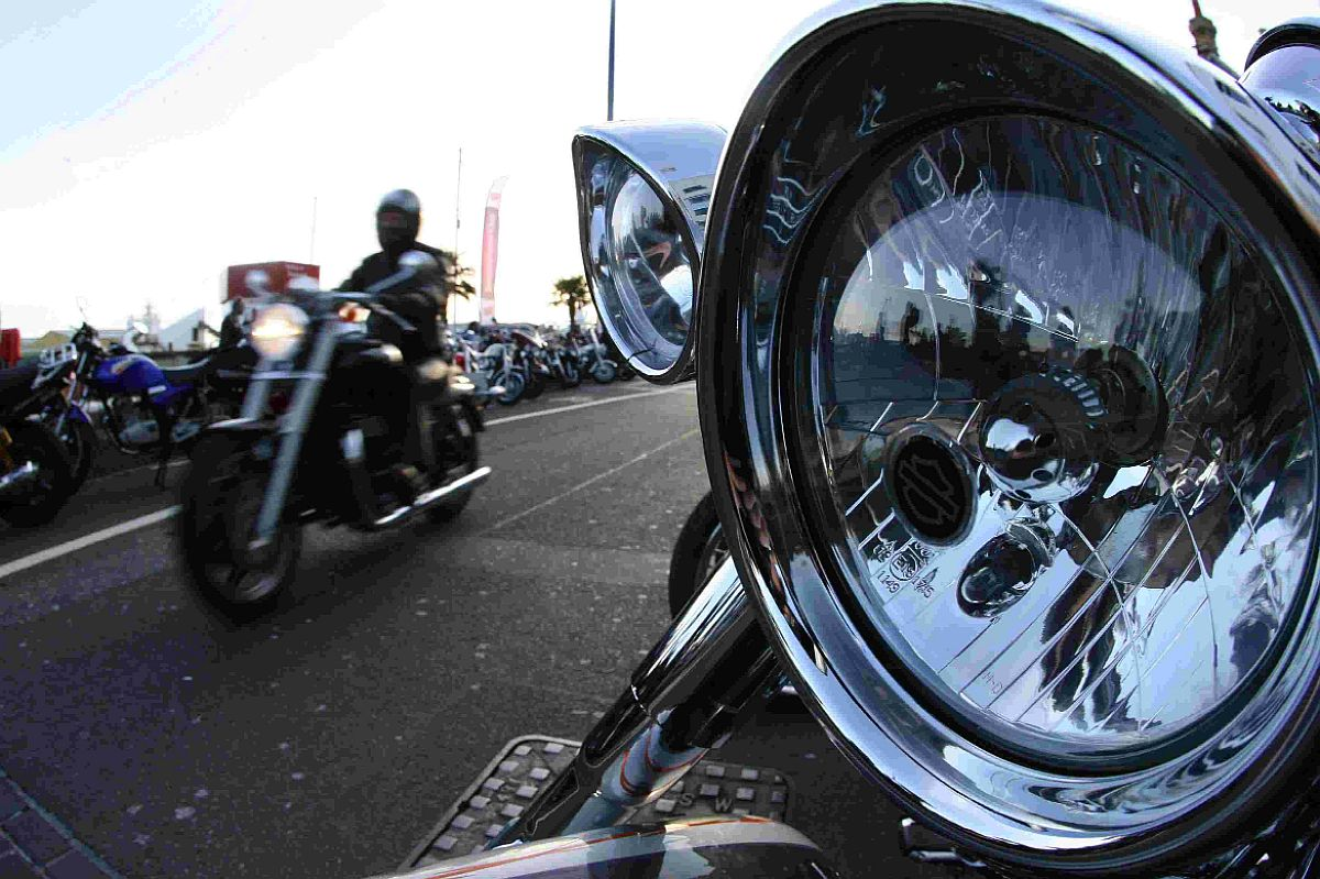 Hundreds of bikers turn out for popular Dream Machines event on Po