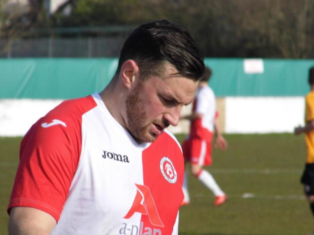 SUSPENDED: Poole Town striker Dan Cann