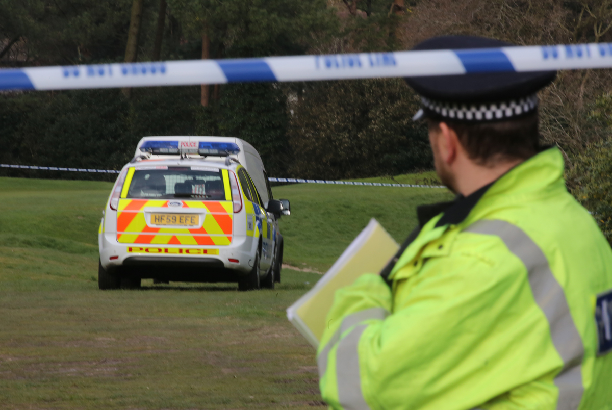 Human remains found at Meyrick Park golf course