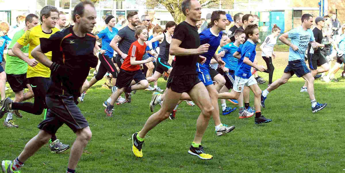 POPULAR:  Runners of all ages at the weekly 5K Bournemouth parkrun
