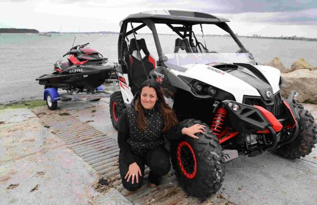 The Can-Am Maverick XXC and Emily Greenslade
