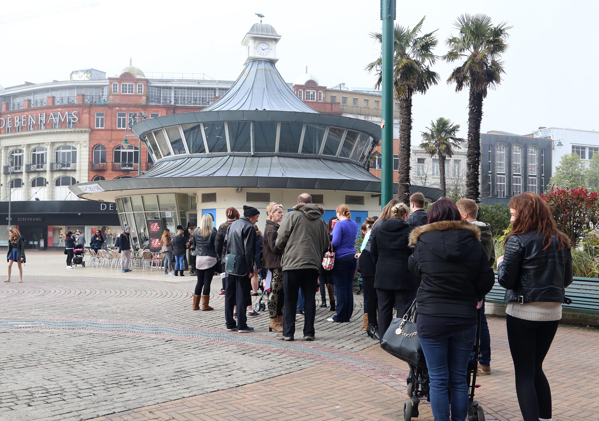 VIDEO: Does Bournemouth have the X Factor? crowds line-up as auditions come to town