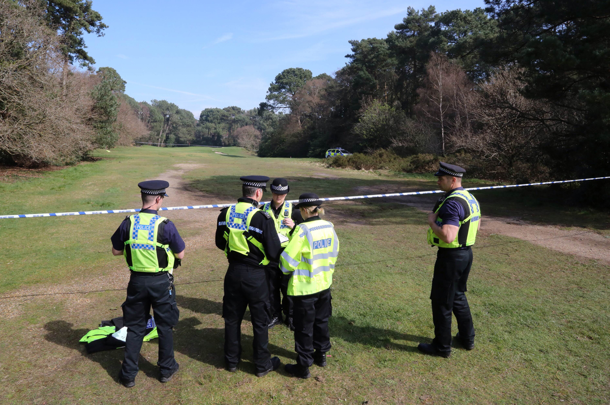 More human remains found 'high up in a tree' during police search of Meyrick Park golf course