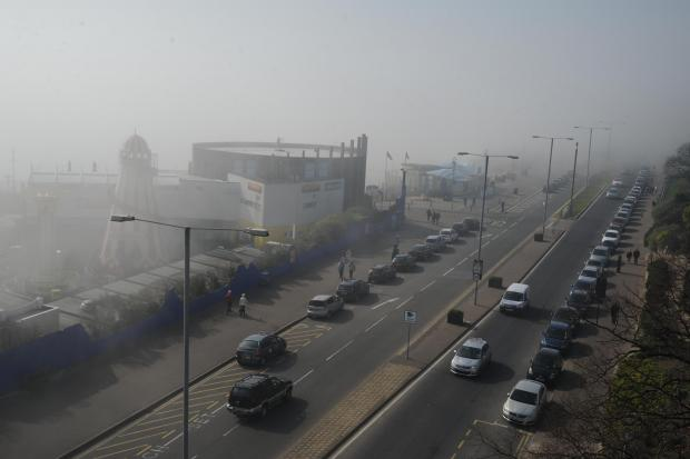 Bournemouth Echo: Warning over 'high' levels of air pollution in Bournemouth due to Sahara smog