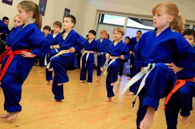 Martial arts youngsters raise more than £1,000 for injured soldiers