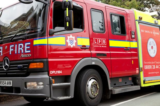 Fire crews tackle fire at beauty salon in Christchurch