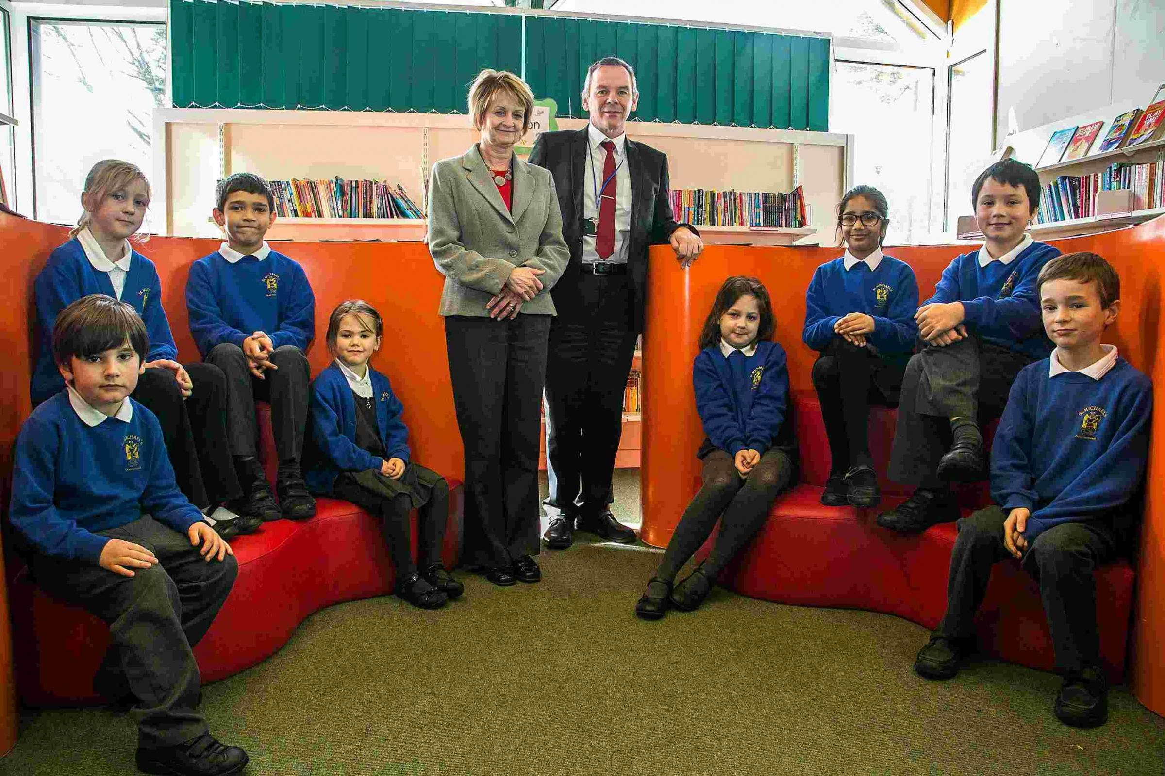 'A village school in the heart of the town': St Michael's Primary School values multi-cultural school society