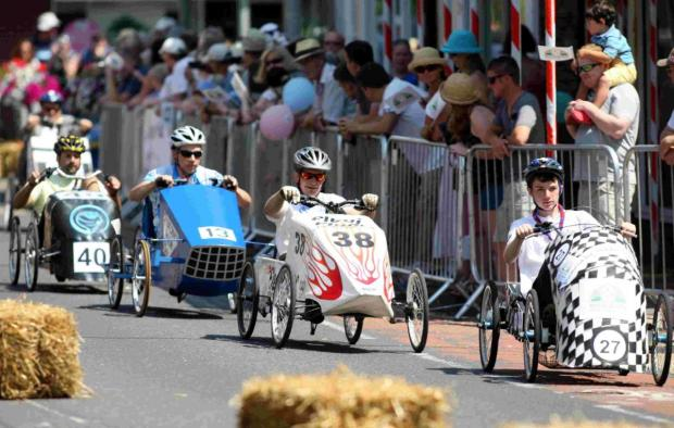 ON YOUR MARKS: Get set to enter this year's Ringwood Brewery British Pedal Car Grand Prix