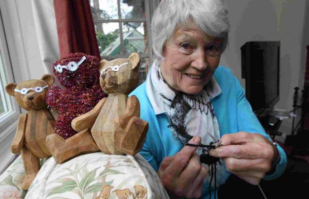 ENDANGERED:  Shirley Critchley was overwhelmed by the response to the campaign