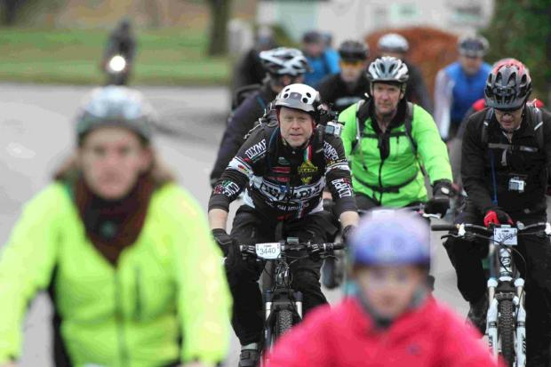 Bournemouth Echo: CONTROVERSIAL: Riders on a previous Wiggle event