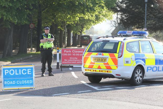 Bournemouth Echo: Body found near toilets in Poole park - police seal off area