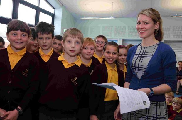 Youngsters on song for new school singing scheme